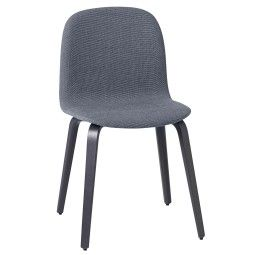 Muuto Visu Wood gestoffeerde stoel