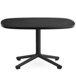 Normann Copenhagen Era salontafel 67x66 met zwart onderstel