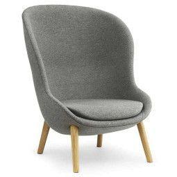Normann Copenhagen Hyg High Oak fauteuil