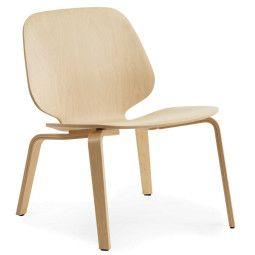 Normann Copenhagen My Chair lounge stoel hout