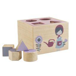 Sebra Farm kubus speelgoed