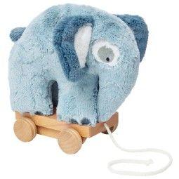 Sebra Fanto the Elephant trek olifant Plushe speelgoed