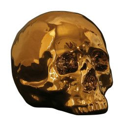 Seletti My Skull Gold Edition woondecoratie