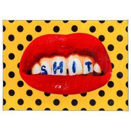 Seletti Teeth vloerkleed 280x194
