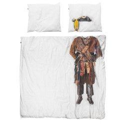 Snurk Piraat dekbedovertrek 240x220