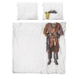 Snurk Piraat dekbedovertrek 200x220