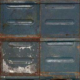 Studio Ditte Container behang donker
