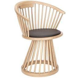 Tom Dixon Fan Dining Chair stoel