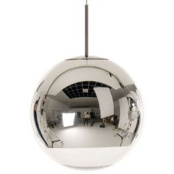 Tom Dixon Outlet - Mirror Ball lamp 40cm (kap incl. pendant)