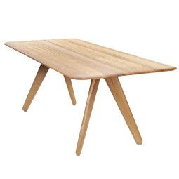 Tom Dixon Slab tafel 200x96 naturel eiken