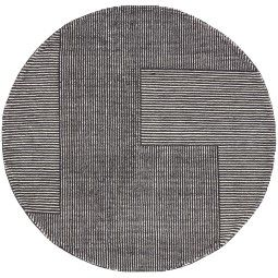 Tom Dixon Stripe Round vloerkleed 200