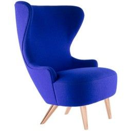 Tom Dixon Wingback Micro Copper fauteuil