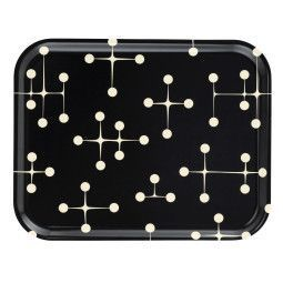 Vitra Classic Tray Dot Pattern Reverse dienblad large dark