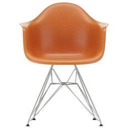 Vitra Eames DAR stoel met verchroomd onderstel, Nieuwe kleuren