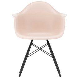 Vitra Eames DAW stoel met zwart esdoorn onderstel, nieuwe kleuren