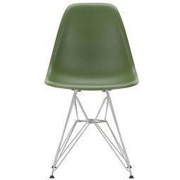 Vitra Eames DSR stoel met verchroomd onderstel, Nieuwe kleuren
