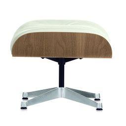 Vitra Ottoman voor Lounge chair sneeuwwit