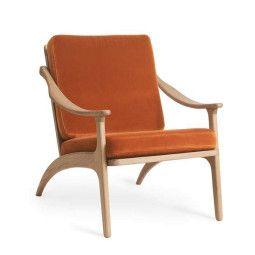 Warm Nordic Lean Back fauteuil eiken
