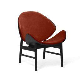 Warm Nordic The Orange fauteuil gestoffeerd