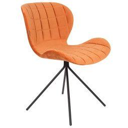 Zuiver OMG Velvet stoel