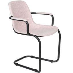 Zuiver Thirsty stoel met armleuning