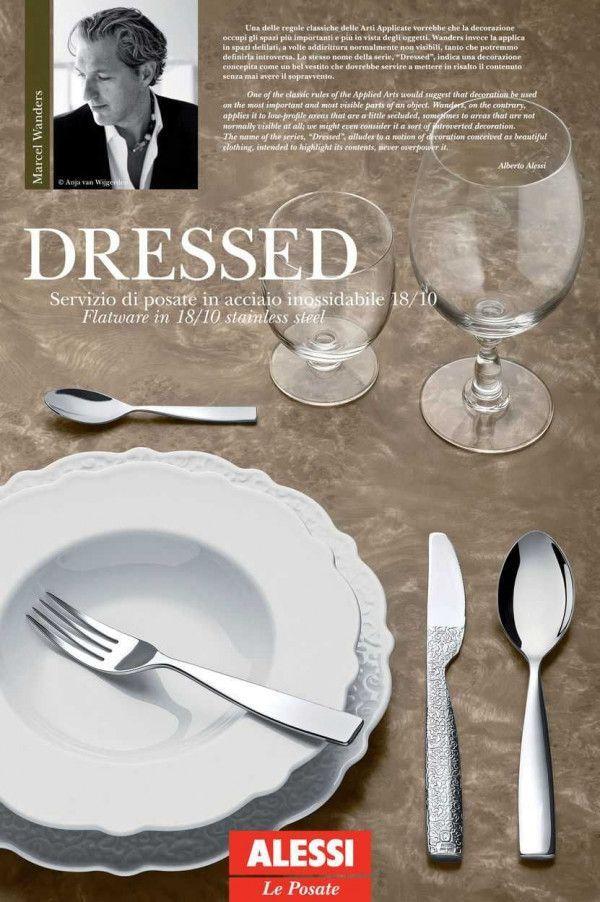 Alessi Dressed bestekset 24 stuks