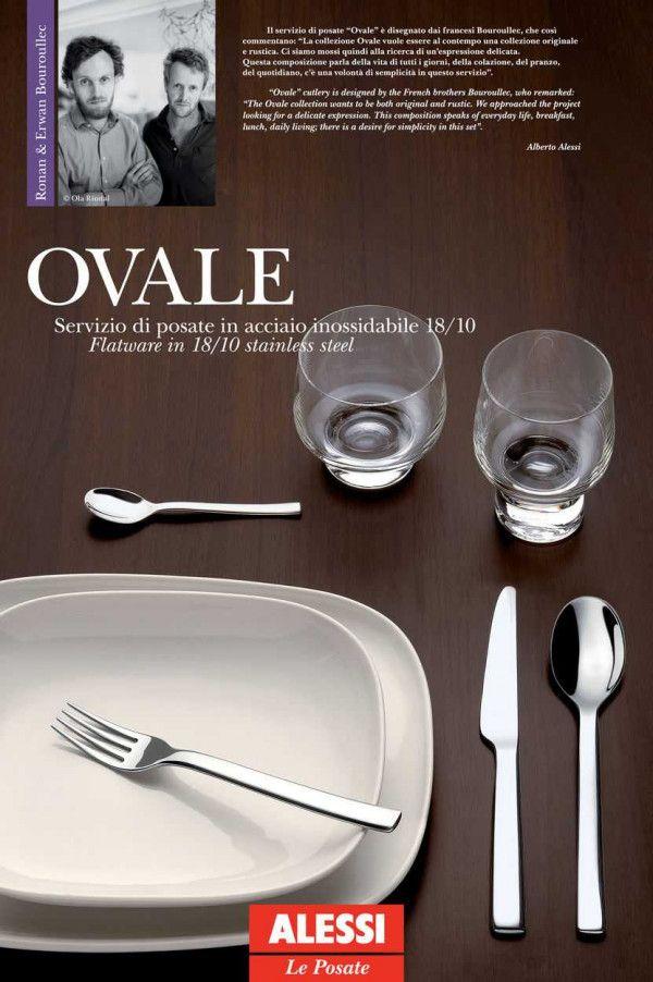 Alessi Ovale bestekset 24 stuks