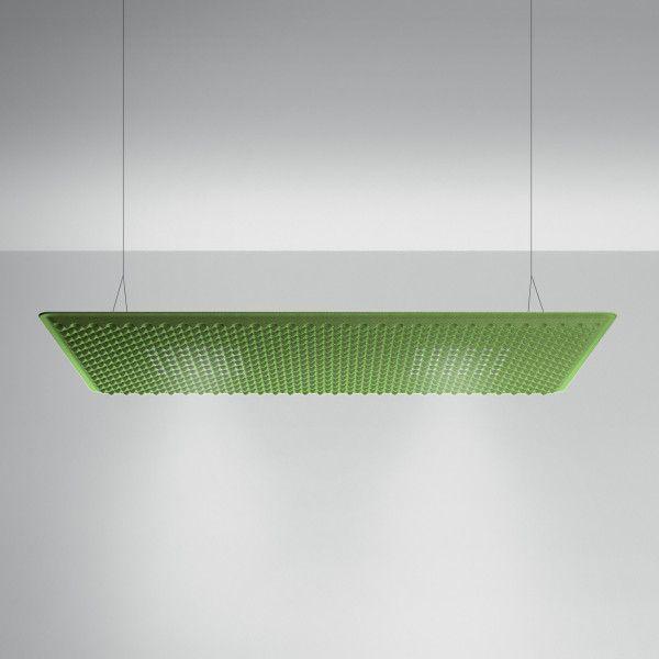Artemide Eggboard Matrix akoestische hanglamp LED 160x80