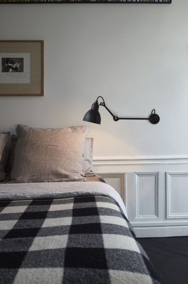 DCW éditions Lampe Gras N204 L40 Single wandlamp