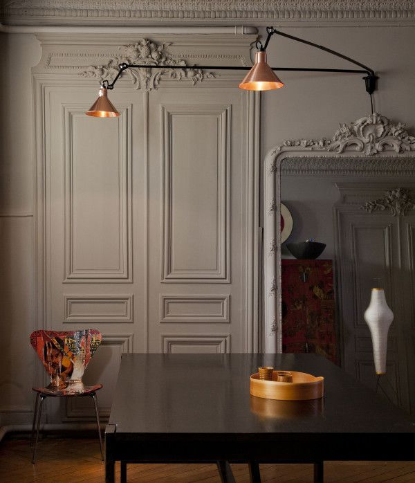 DCW éditions Lampe Gras N213 L Double wandlamp