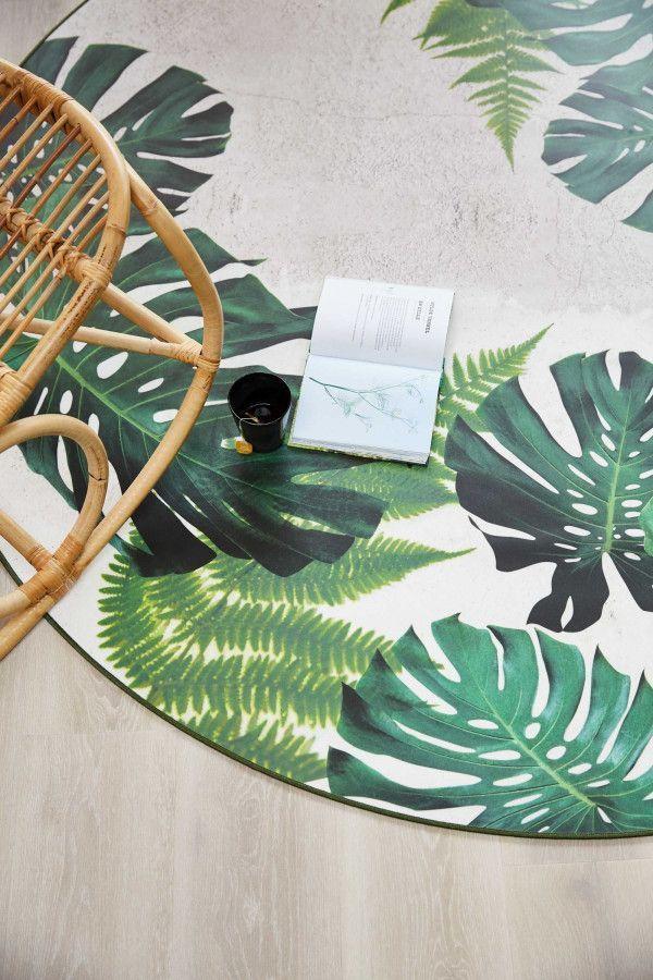 Tarkett Leaves Tropical vloerkleed vinyl 196