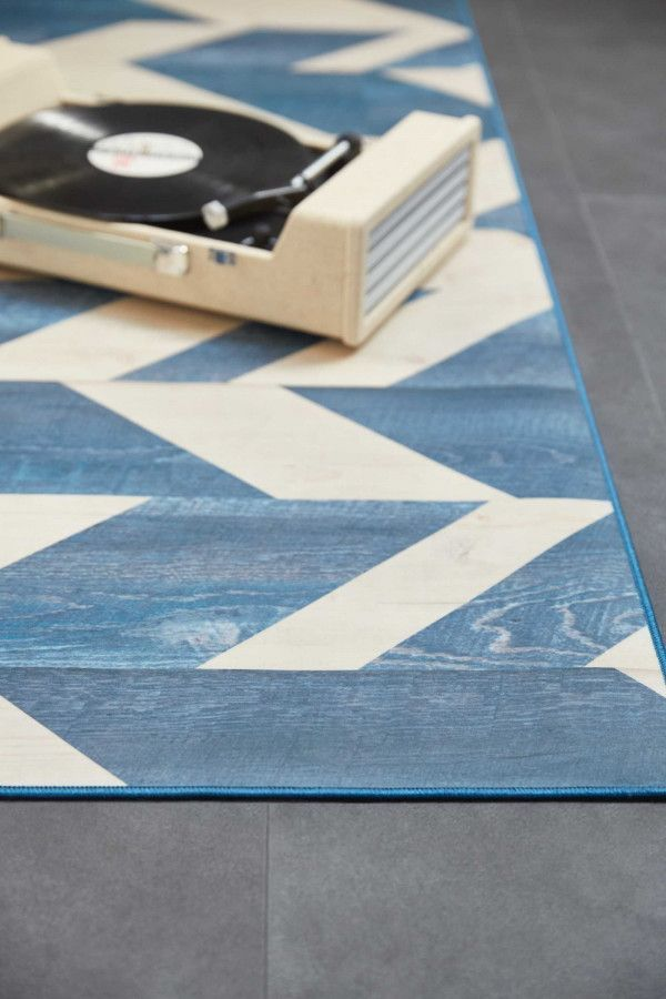 Tarkett Herringbone vloerkleed vinyl 166x226