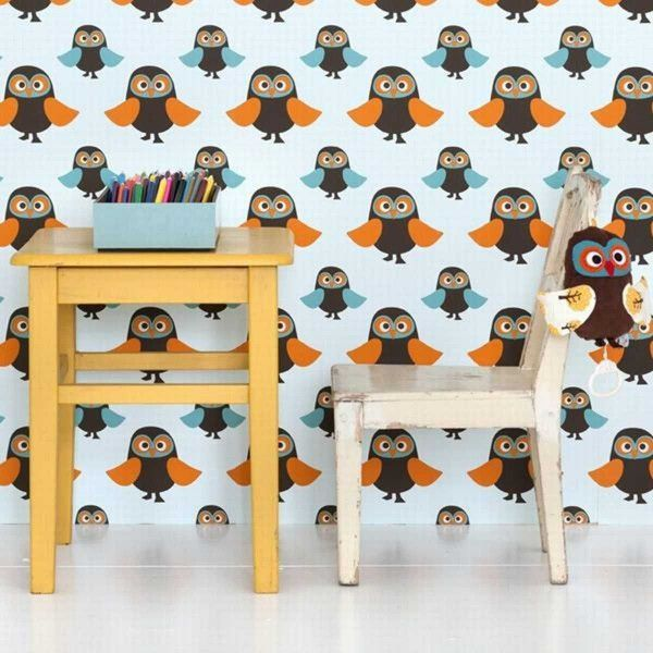 Ferm Living Owls behang