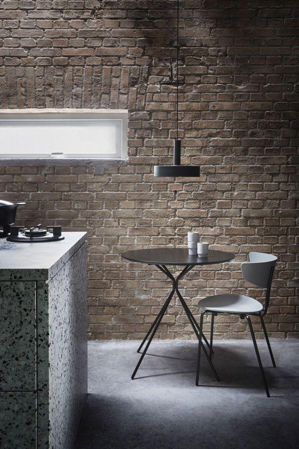 Ferm Living Record Black hanglamp