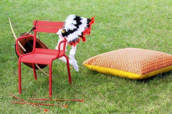 Fermob Luxembourg kinder tuinstoel met armleuning
