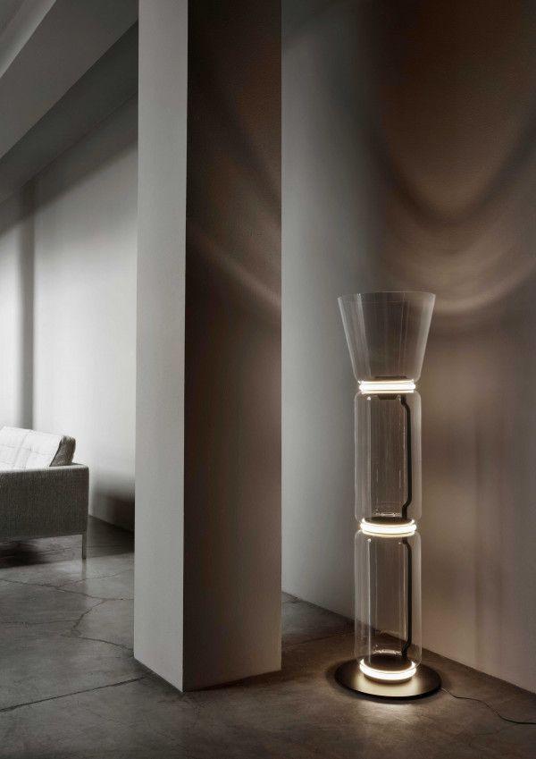 Flos Noctambule 3 high cylinder vloerlamp LED