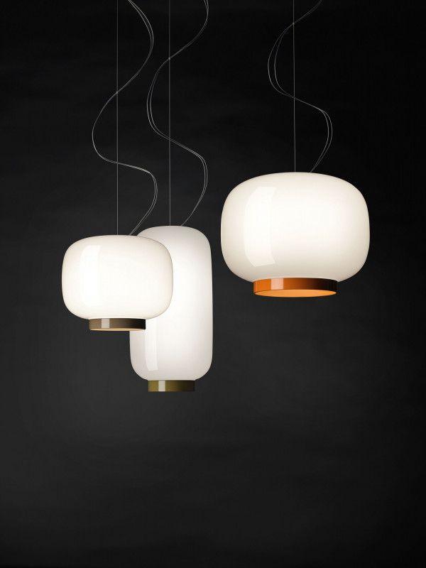 Foscarini Chouchin Reverse 1 hanglamp LED dimbaar