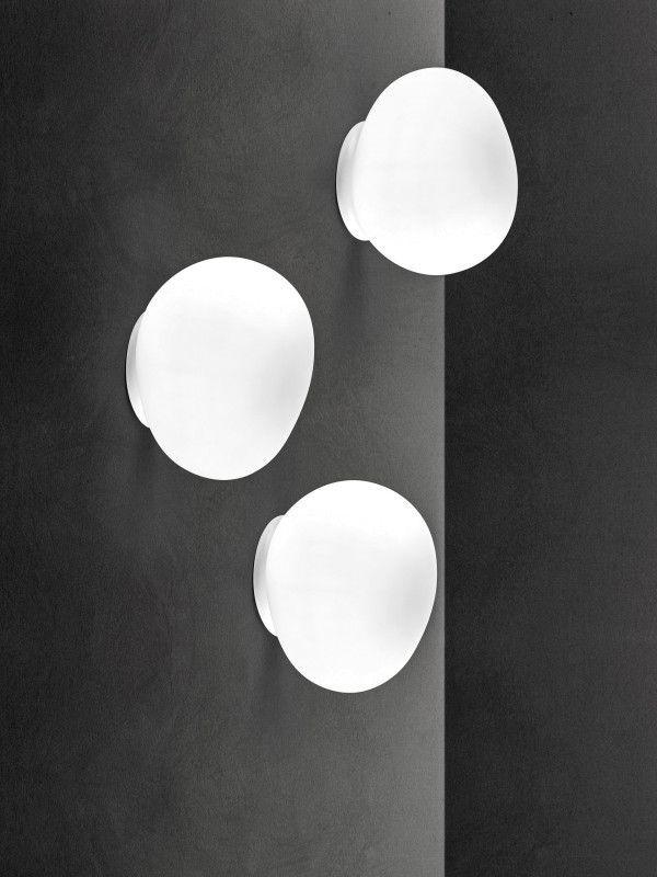 Foscarini Gregg wandlamp medium wit