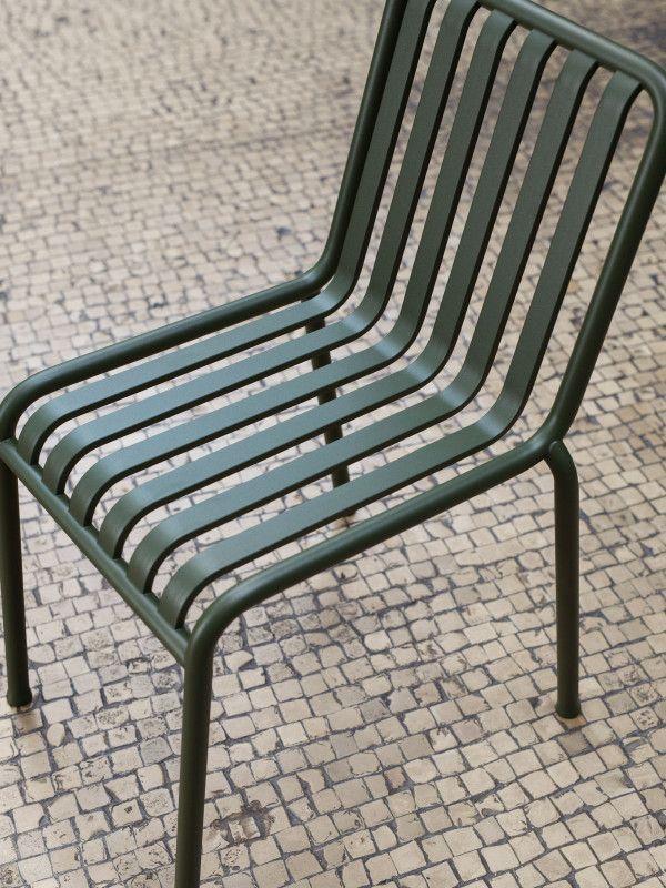 Hay Palissade tuinset 170x90 tafel + 4 stoelen (chair)