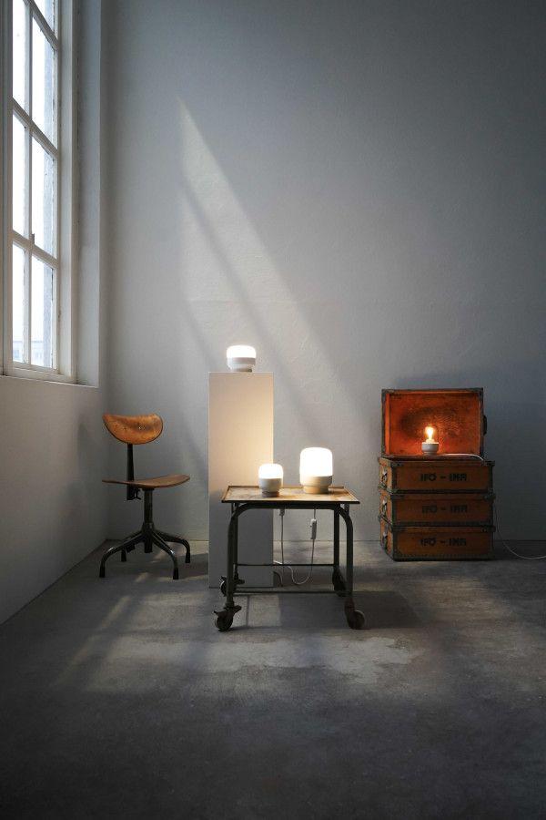 Ifö Electric Ohm 140/190 tafellamp porselein