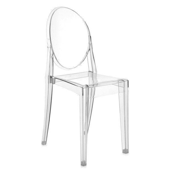 Kartell Victoria Ghost stoel