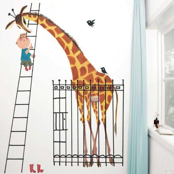 KEK Amsterdam Giant Giraffe behang
