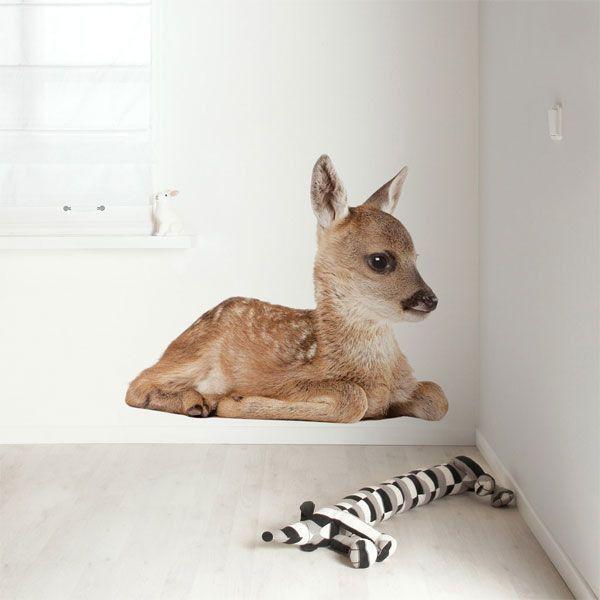 KEK Amsterdam Forest Friend Deer XL muursticker