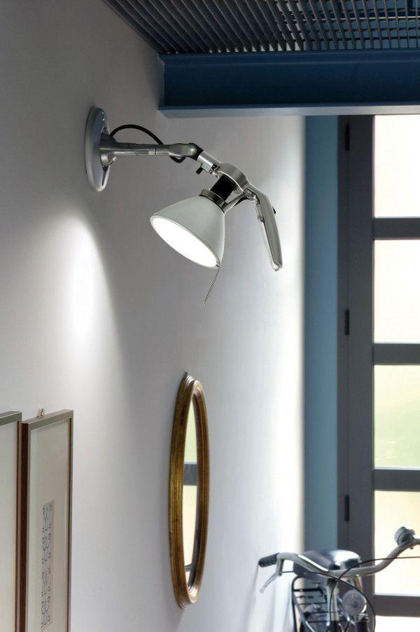 Luceplan Fortebraccio wandlamp large