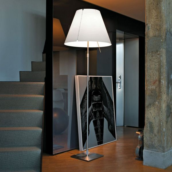 Luceplan Grande Costanza vloerlamp telescopisch met aan-/uitschakelaar