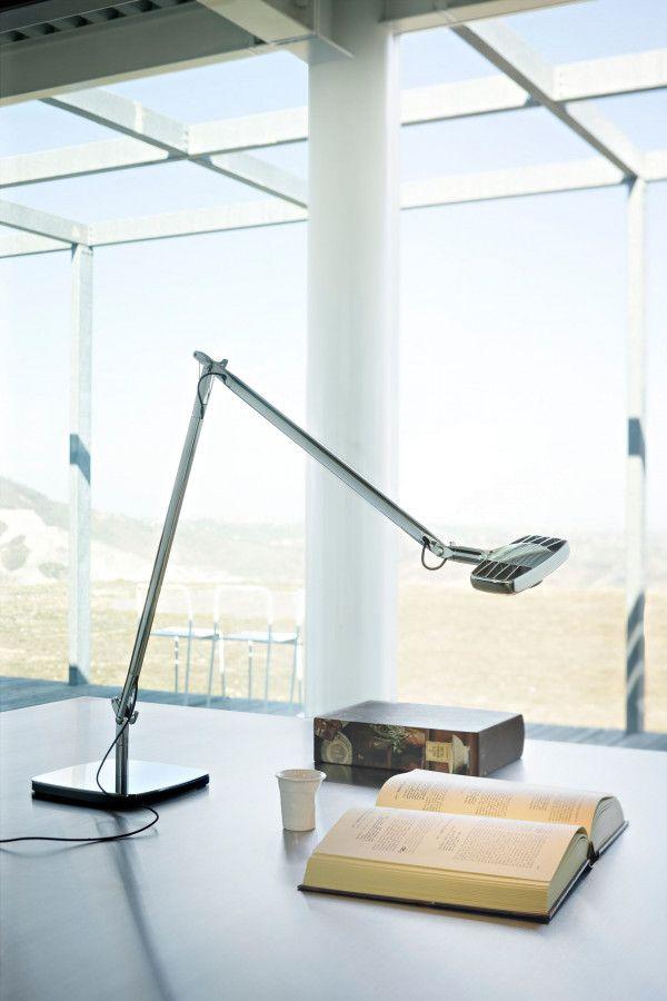 Luceplan Otto Watt bureaulamp LED zwart