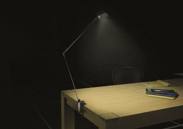 Lumina Cloe Morsetto bureaulamp halo met tafelklem