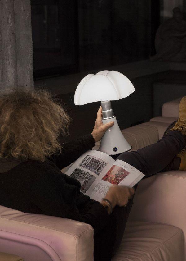 Martinelli Luce Mini Pipistrello tafellamp LED dimbaar met touchbediening