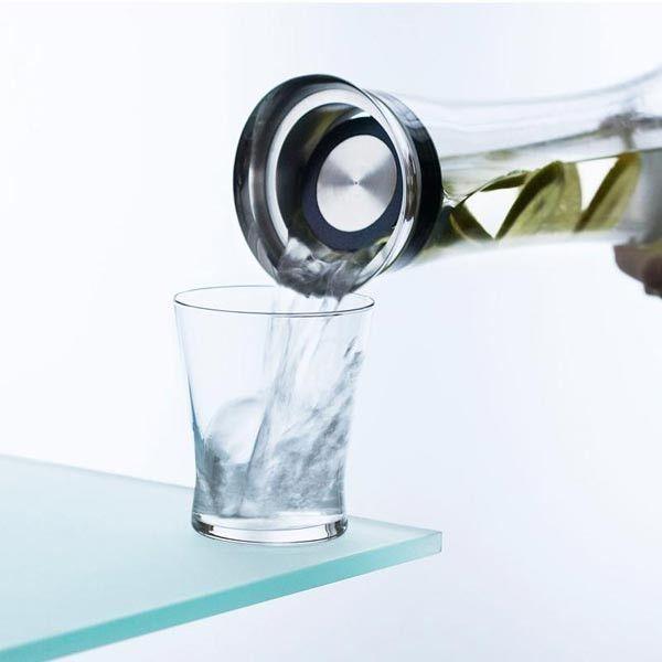 Menu Waterkaraf met filter karaf 0,8 l, stalen dop