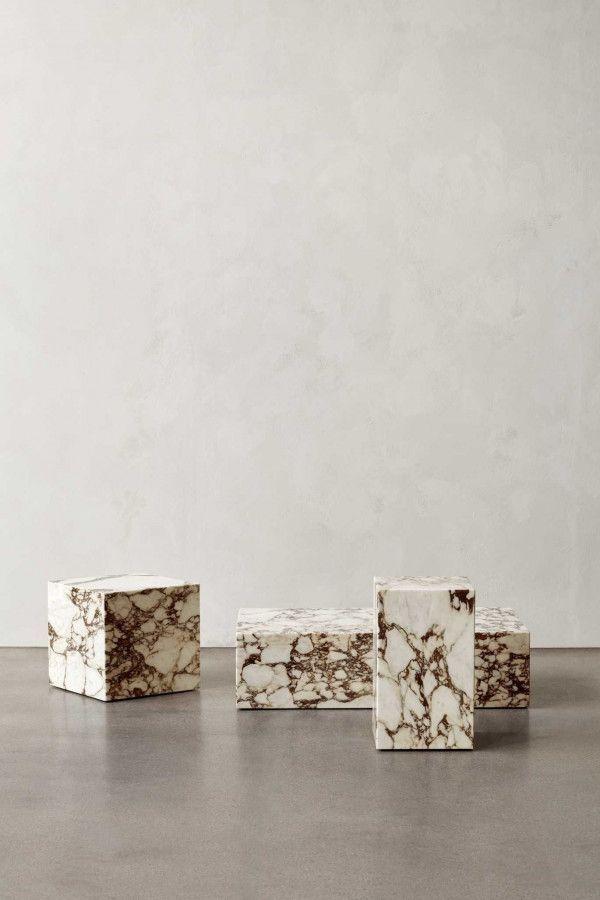 Menu Plinth Cubic bijzettafel 40x40
